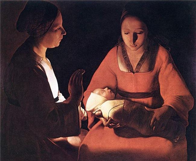 Жоржа де ла Тура «Новорожденный»