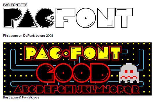 pacfont