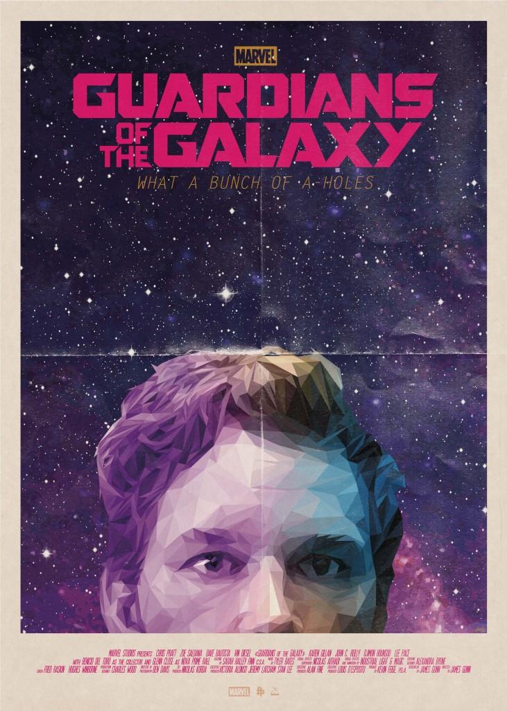 Stragi galaktiki poster|Sayhi