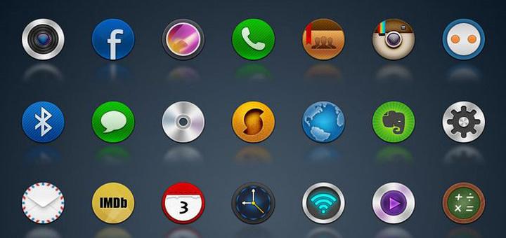 30 бесплатных наборов иконок для дизайнеров