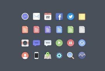 61_Free flat icons