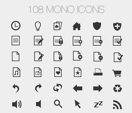 62_Mono icons