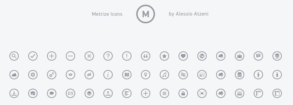 63_Metrize icons