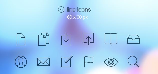 64_Tab Bar Icons iOS 7
