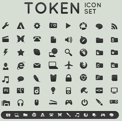 68_Token icon set