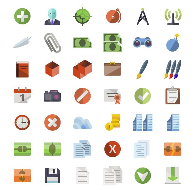 71_Flat icons_More than 3600 icons