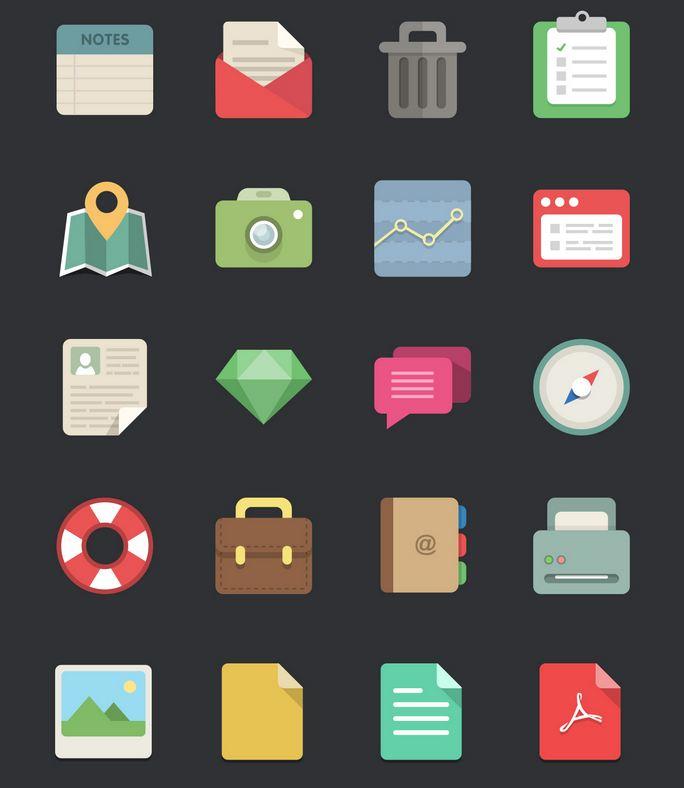 72_48 flat designer icons