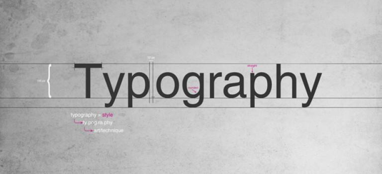 Уроки по шрифтам и типографике