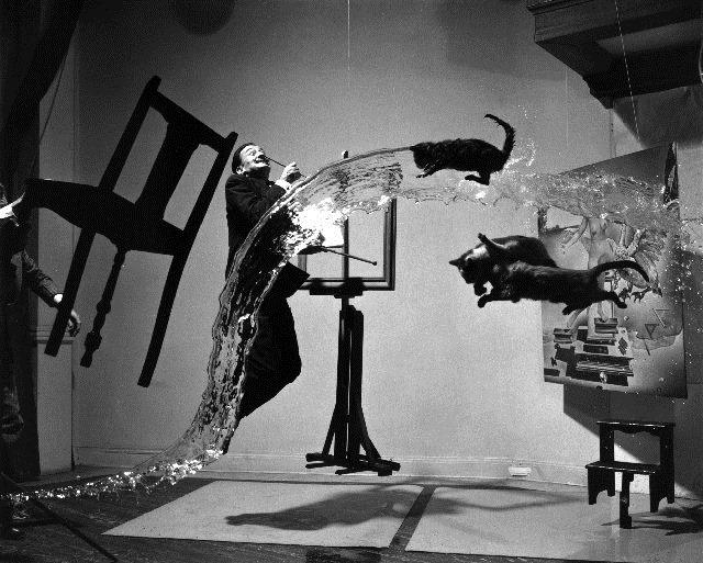 фотограф Халсман,сюрреализ без фотошопа