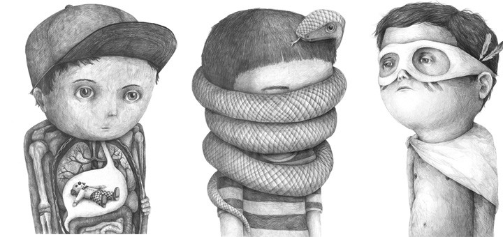 Великолепные работы, сделанные карандашом от Stefan Zsaitsits