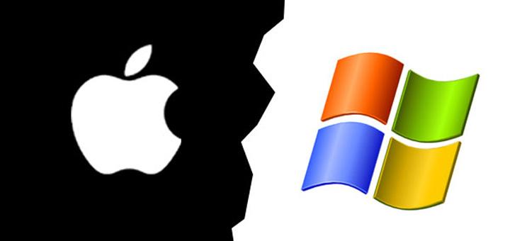 Войны брендов: Apple vs Microsoft