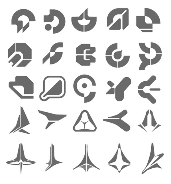 Добавьте логотипы, цифры и полоски