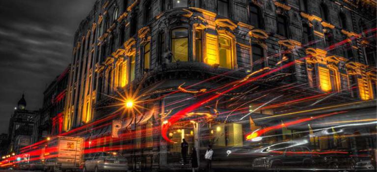 Городские пейзажи от Алекса Рыкова