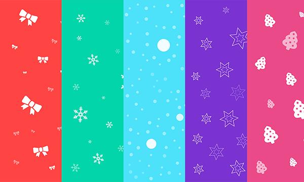 Freebie-free-seamless-christmas-backgrounds-set