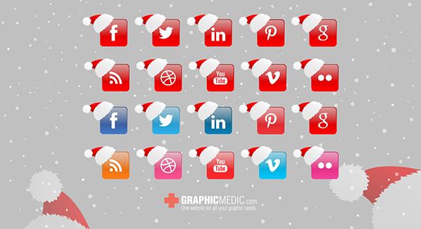 free-Christmas-social-icons1