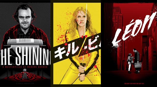 Чарующие плакаты лучших фильмов от Tracie Ching