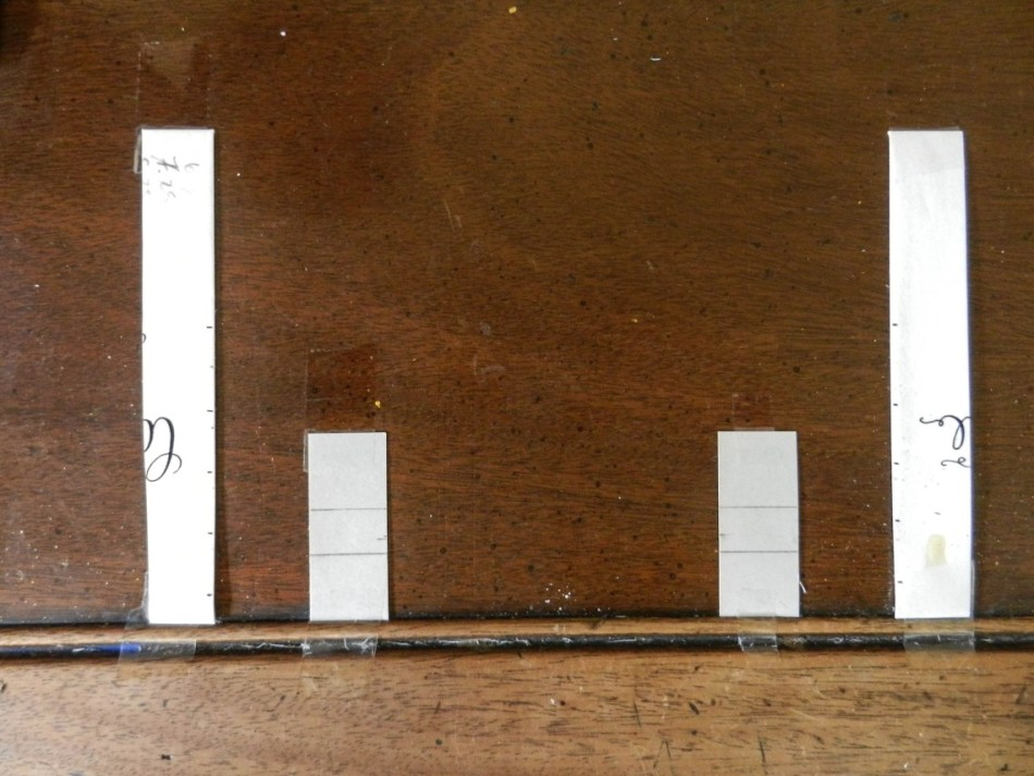Как правильно рассчитать интервалы для вашей каллиграфии1