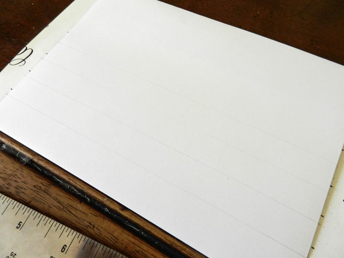 Как правильно рассчитать интервалы для вашей каллиграфии6