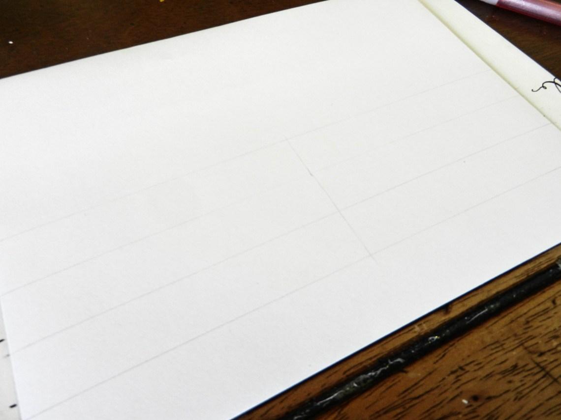 Как правильно рассчитать интервалы для вашей каллиграфии8