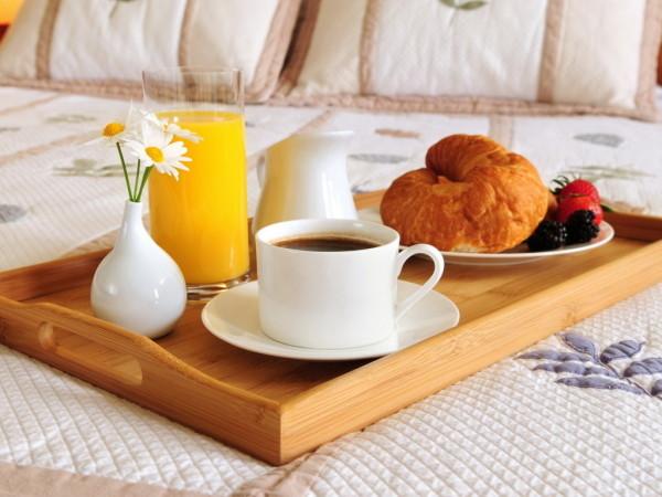 Приготовьте завтрак в постель
