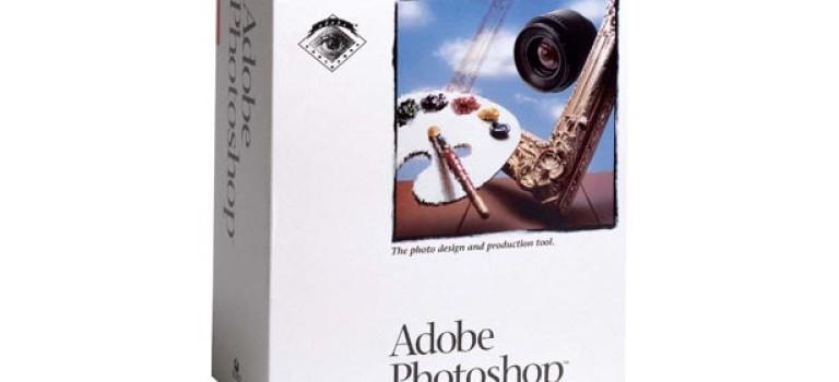 Профессионалы работают в Adobe Photoshop 1.0