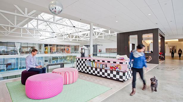 10 самых крутых и креативных офисов в мире