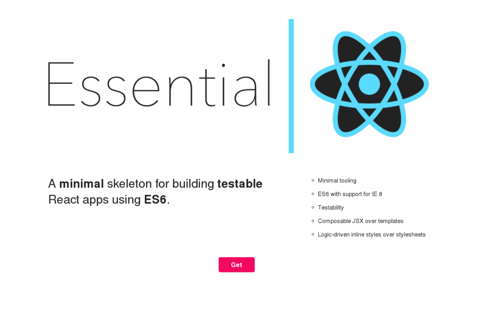 Essential React