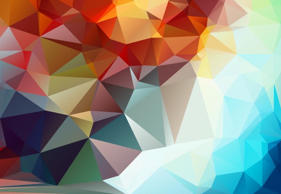 Набор геометрических фонов