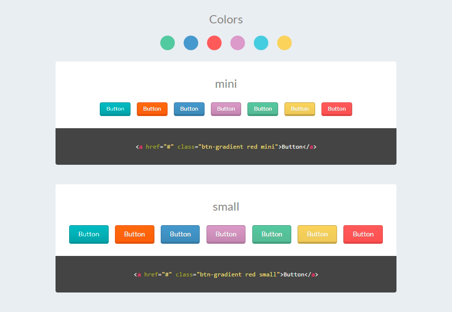 50+ CSS кнопок