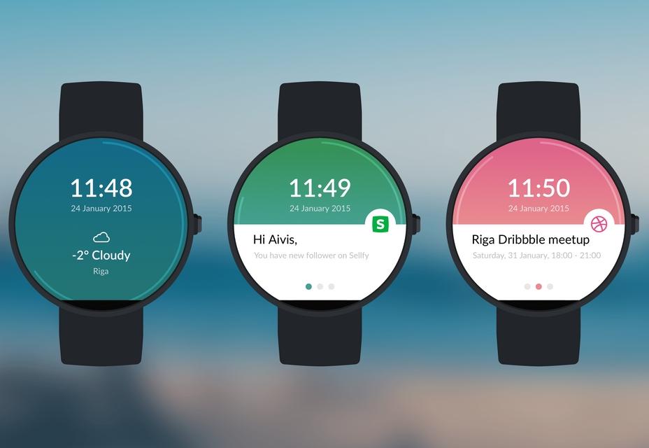 Шаблон для Moto 360 Watch