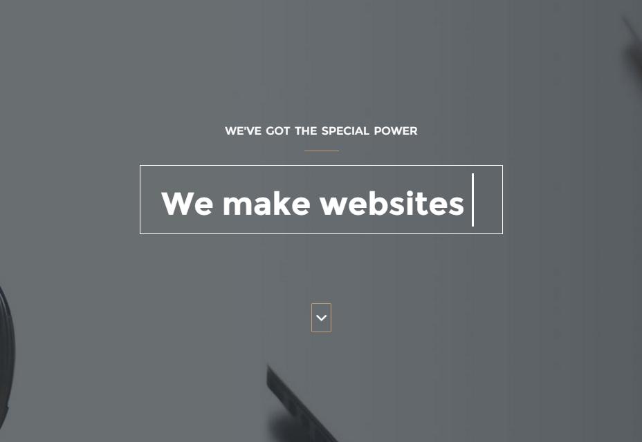 HTML шаблон для портфолио
