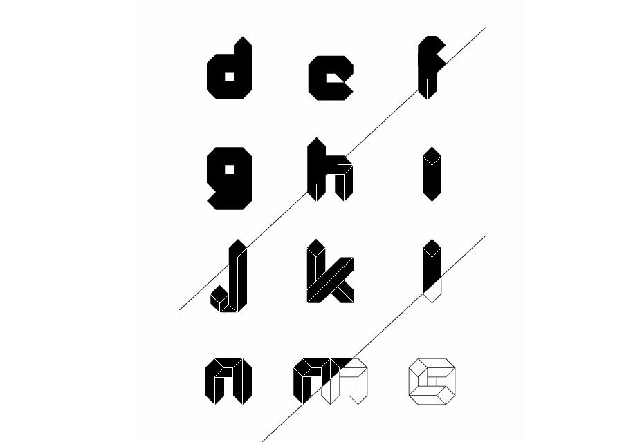 Quad: геометрические шрифты