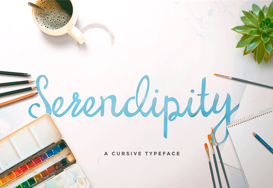 Шрифт Serendipity