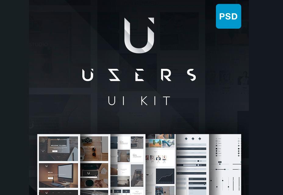 Набор пользовательских интерфейсов от Uzers