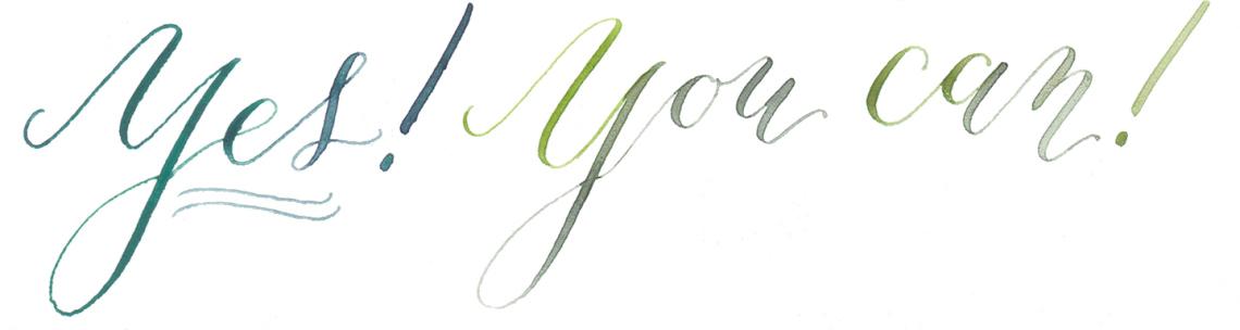Левша не может создавать каллиграфию