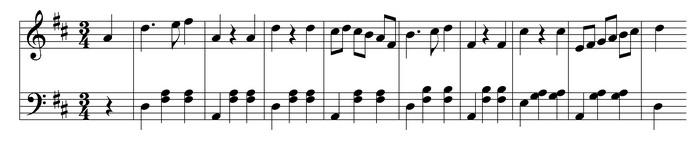 Ритмический контраст голосов