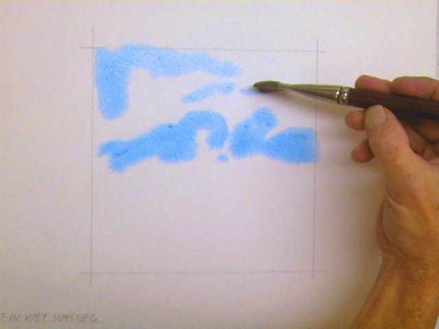 Переходы красками как рисовать