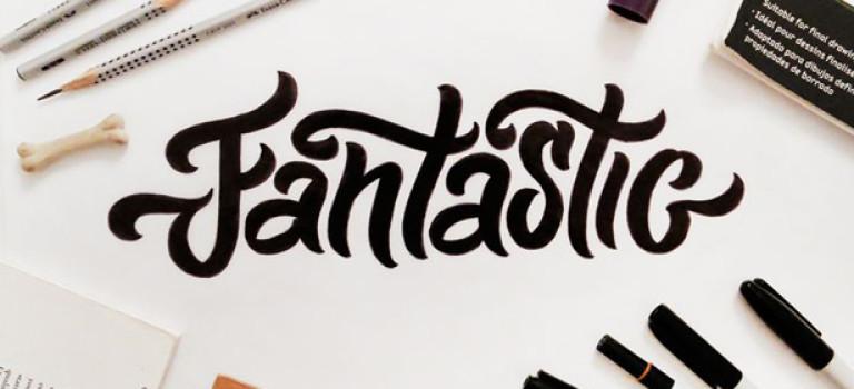 12 крутых уроков по каллиграфии