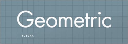 Геометрический шрифт