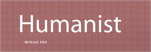 гуманистичные шрифты