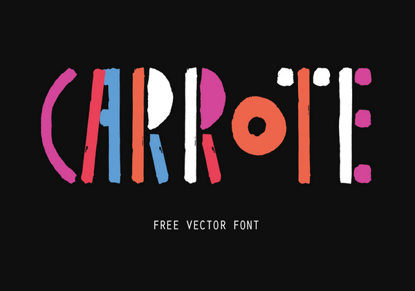 Carrote+free+fonts