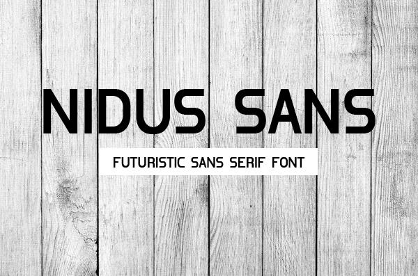 Nidus+Sans+free+fonts