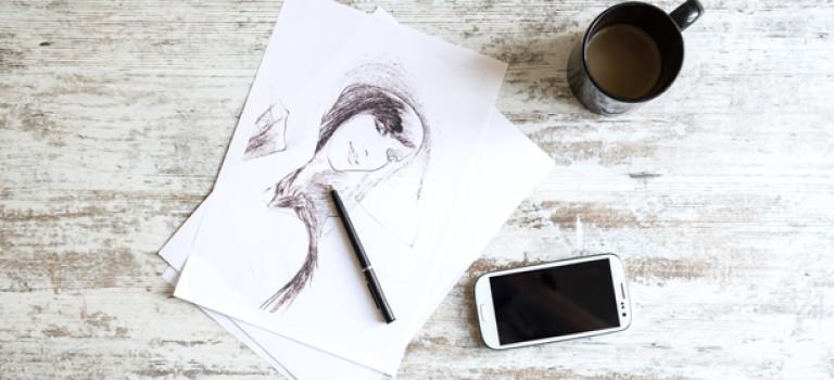 Как делать зарисовки в скетчбуке