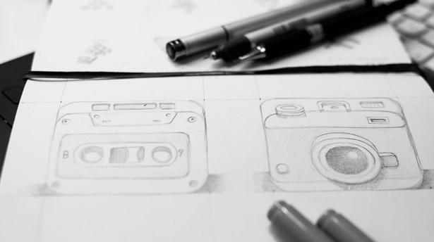 Процесс создания иконок от Nickа Kumbari