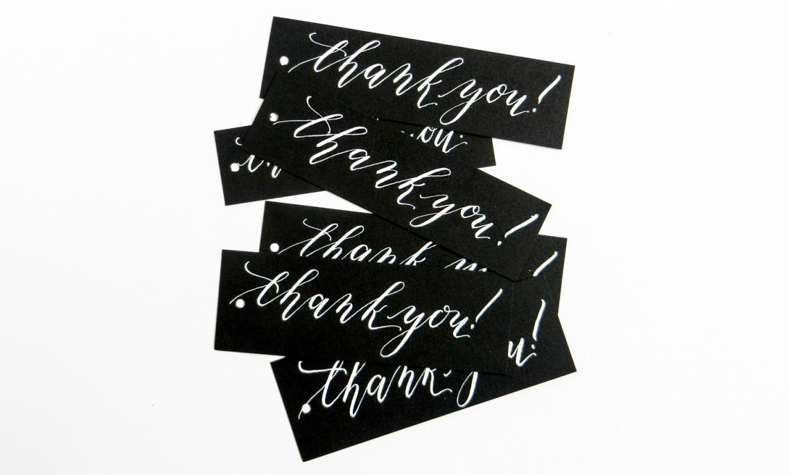 Благодарственные открытки