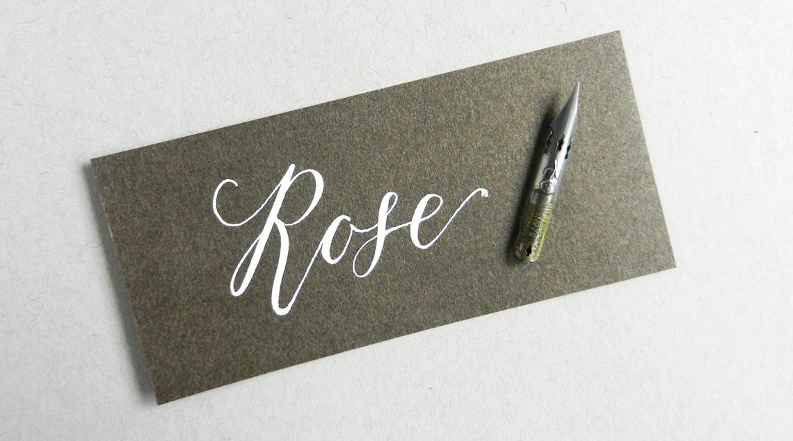 rose перо
