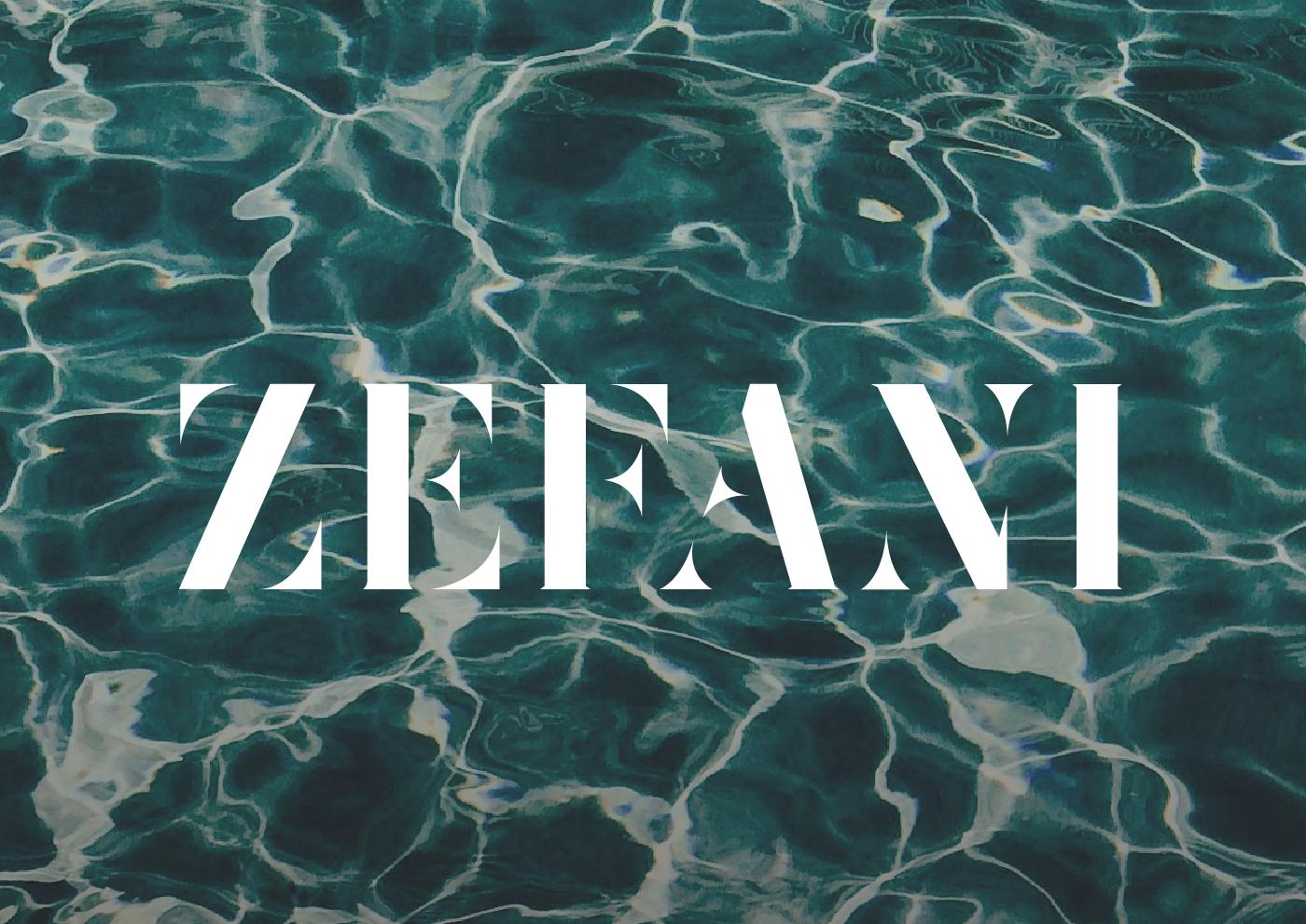 zafani free font