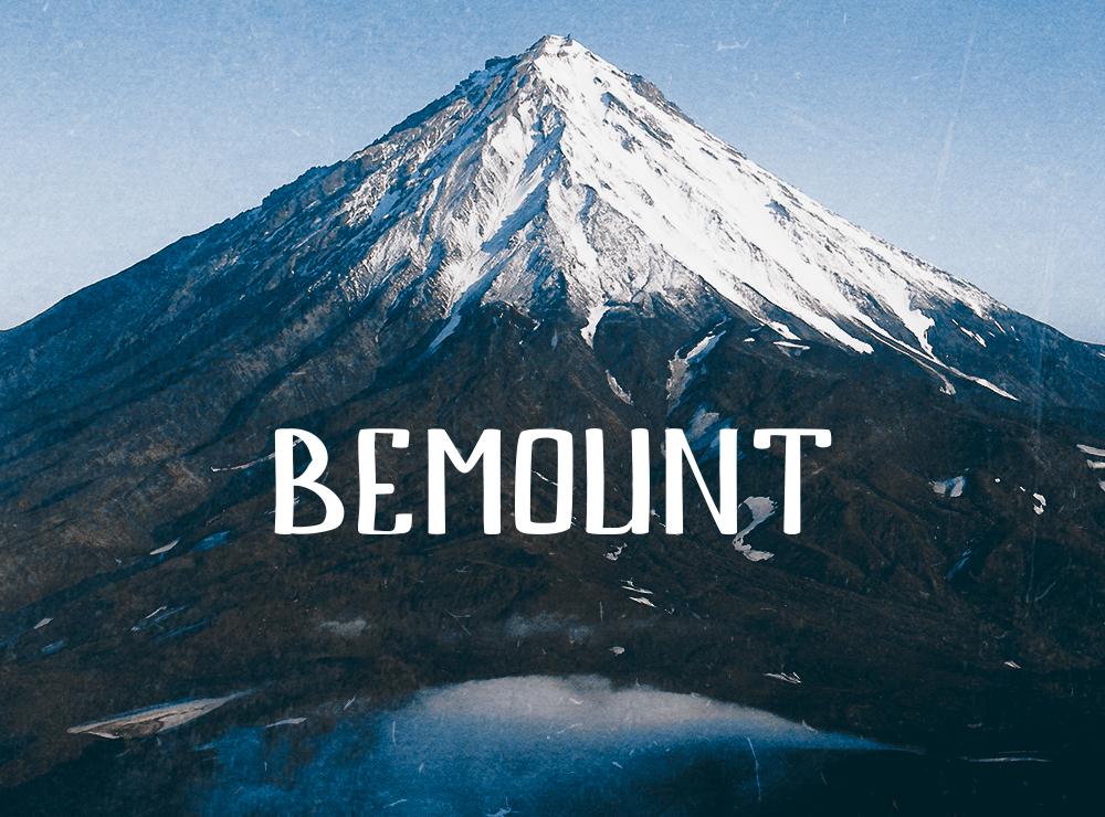 free font bemount
