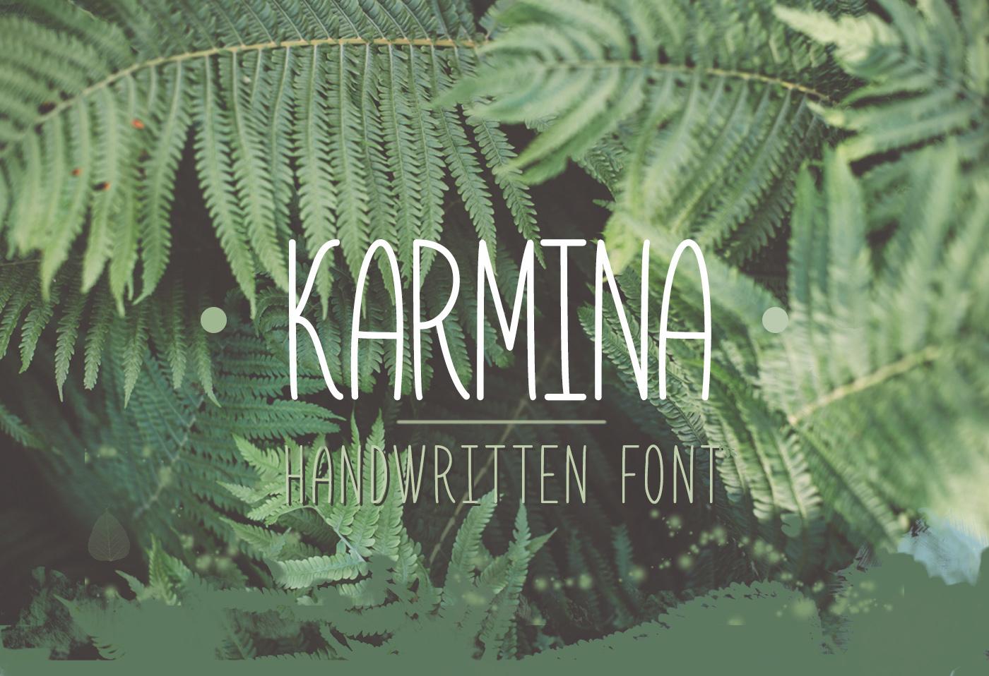 karmina free font