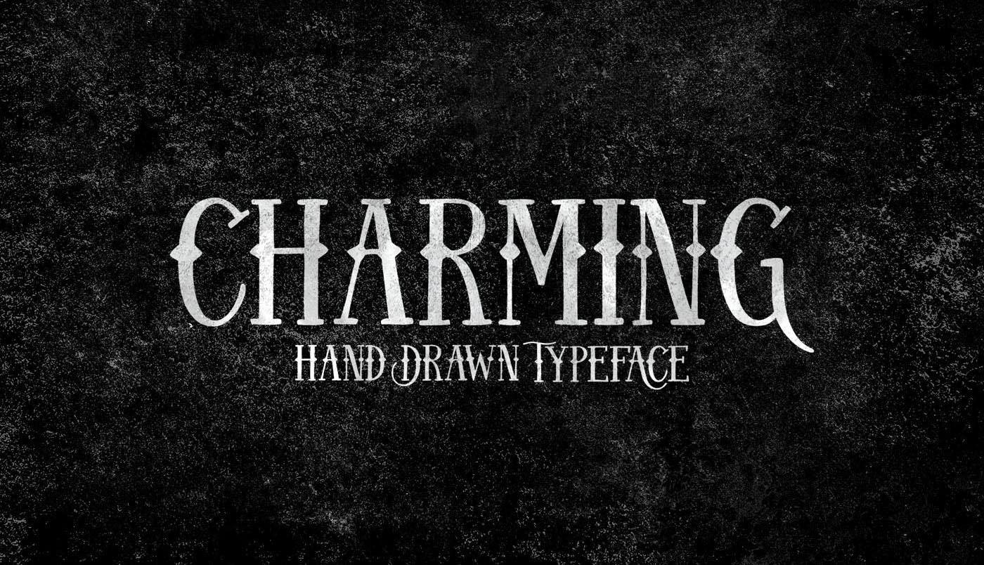 free font charming
